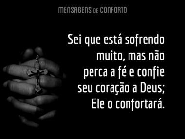 Deus confortará seu coração
