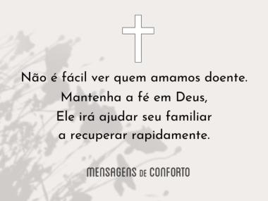 Mantenha a fé em Deus