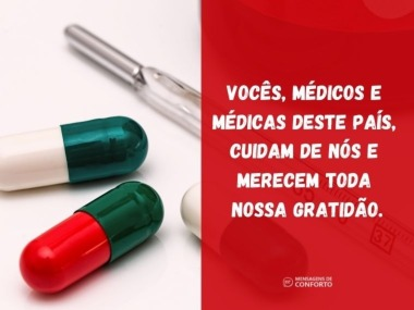 Médicos e médicas, obrigado