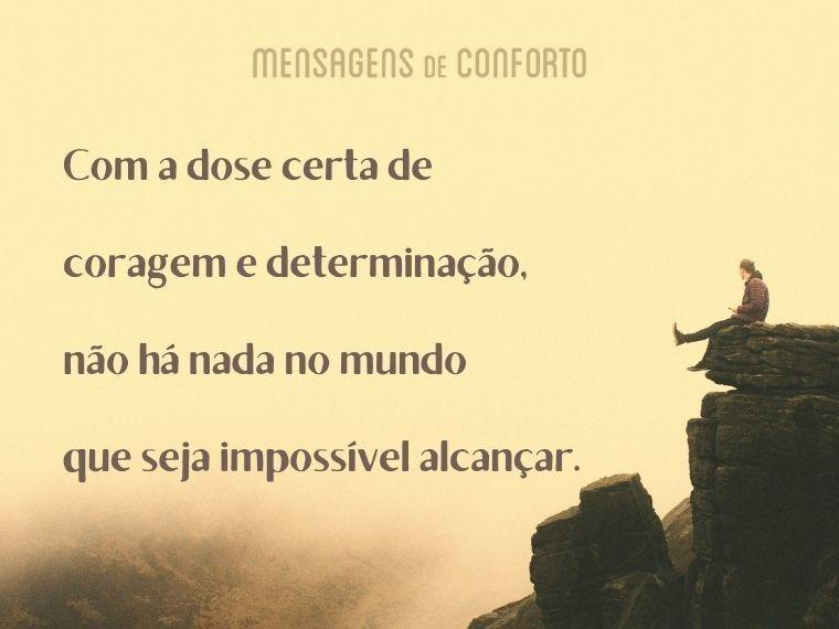 Nada no mundo é impossível