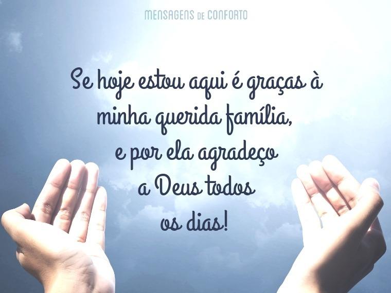 Obrigada Meu Deus Porque Todos Os Dias Me Dás Mais Do: Te Agradeço Pela Minha Família, Deus