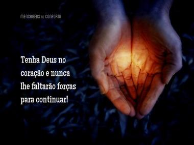 Tenha Deus no coração