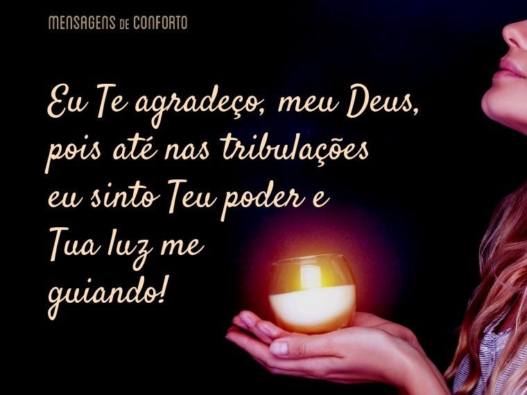 Tua luz me guia sempre, meu Deus